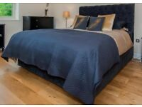 """MILLBROOK SUPERKING BED COMPLETE Size 6'0"""" x 6'6"""" Used/bought in December 2017"""
