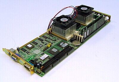Advantech Pca-6276 Dual Pentium Iii 850mhz 384mb Single Board Computer Sbc