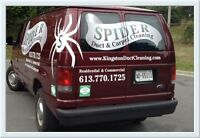 Air Duct & Carpet Cleaning by Spider - Kingston On