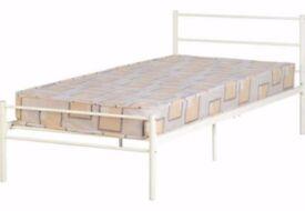Devon single bed with mattress £60 Brand new