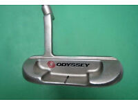 Odyssey # 4 White Hot putter,head covers