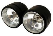Twin Headlight Motorcycle