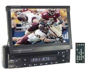 """7"""" One DIN DVD/CD/MP3/MP4 player with built-in GPS USB SD"""