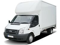 Removals from £15ph short notice man and van hire, Luton van available 24/7