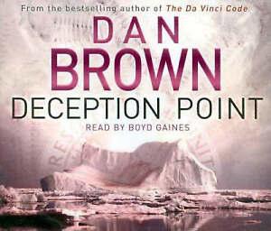 Deception Point (Audio) by Dan Brown (CD-Audio, 2004)