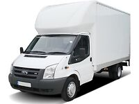 Removals van and man hire urgent transport deliveries moving, 2 movers from £40ph, reliable 24/7