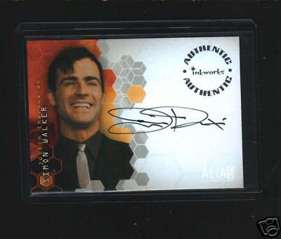 Alias  A27  Justin Theroux Auto Card
