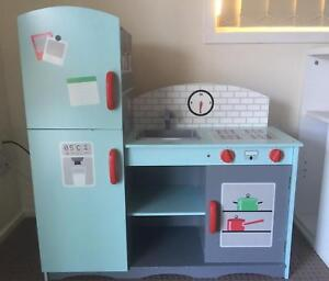 Kids Space wooden play kitchen Strathpine Pine Rivers Area Preview