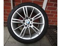 "18"" BMW MV3 ALLOYS (will fit vivaro traffic t5 van)"