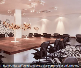 Co-Work Desk Space Available to Rent | Shoreditch Office Space upto 35 desks | E2
