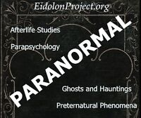 PARANORMAL PHENOMENA - RED DEER - Eidolon Project Canada