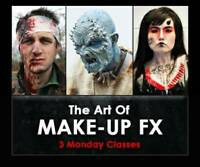 Learn The Art Of Makeup FX (3 Weekly Classes)