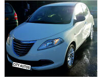 CHRYSLER YPSILON 2014 49,000 MILES 1.2 PETROL 5 DOOR HATCHBACK MANUAL WHITE