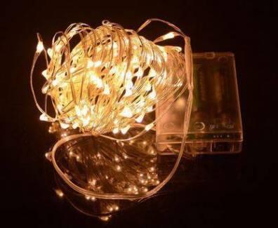 5 Metre Copper  Wire Fairy Lights in lots of 10