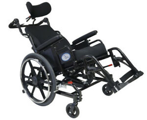 Tilt & fully reclining Wheel chair Different call +Roho Cushion