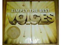 SIMPLY THE BEST VOICES 3CD ALBUM