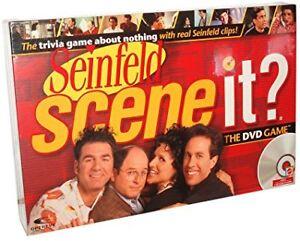 Seinfeld Scene It DVD Game Board Game Family Game Comedy Fun