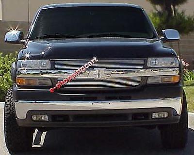 Chevy Silverado 2500/3500 HD 99-02 billet grille inserts
