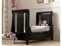 Tutti Bambini mini cot bed and sofa-Espresso finish
