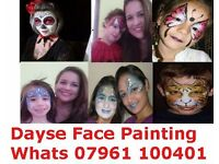 Professional Face-Painter +44 07961100401