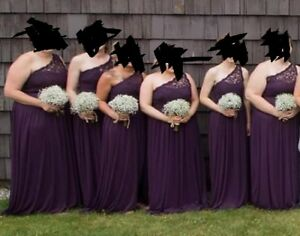 Plus sized prom or bridesmaid dress