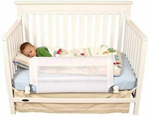 Regalo Swing Down Convertible Crib Toddler Bed Rail Guard