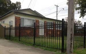 New fencing  sale 1.3 h x 2mtr L $100 a panel in black colour Ingleburn Campbelltown Area Preview