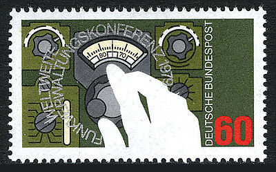 Germany 1295, MNH. World Radio Conference, 1979