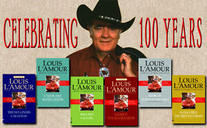 Louis L'Amour complete collection of 120 paperbacks MINT