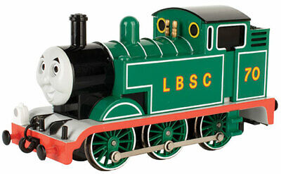 Bachmann HO 58739 Thomas The Tank Engine LBSC with Moving Eyes Cab #70 BIN