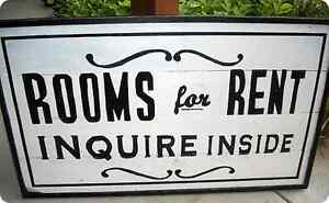 Rooms for rent / chambres à louer