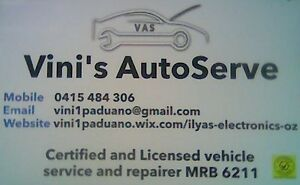 VINI'S AUTOSERVE (VAS) Bayswater Bayswater Area Preview