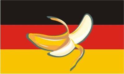 Fahne Flagge Bananenrepublik Deutschland Bananenfahne 90 x 150 cm
