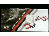 Total upper body workout door Gym bar xtreme. Brand new boxed