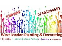 Painting & Decorating in West London