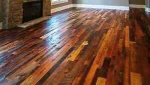 Reclaimed Softwood / Hardwood Flooring