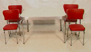 Want to buy great condition 50's chrome/formica table and chairs