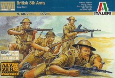 Italeri IT6077 1/72 (20mm) WWII British 8th Army