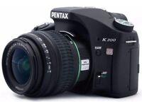 Pentax K200 D Digital SLR