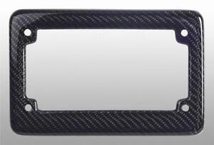 carbon fiber license plate frame motorcycle