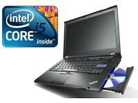Lenovo ThinkPad T420 Core i5 2.5Ghz 8GB 128ssd HDD Win 7 Laptop WEBCAM