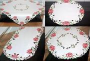 Tischdecke Stickerei