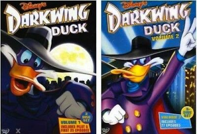 Darkwing Duck: Disney TV Series Complete Volumes 1&2 DVD Bundle Set BRAND NEW