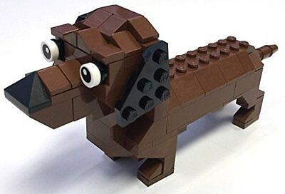 Constructibles  Dachshund Mini Model Lego  Parts   Instructions Kit