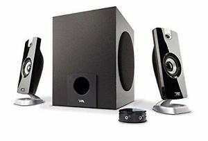 NEW Cyber Acoustic CA 3080 2.1 Powered Speaker System