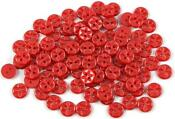 14mm Red Buttons