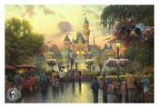 Thomas Kinkade Disney 50th