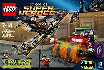 Lego 76013 DC Super Heroes Batman - The Joker Steam Roller - New, Sealed