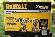 Dewalt Hammer Drill Combo