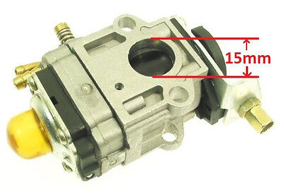 15mm Carb Part Skater X Down Hill 49cc Skateboard Gas 2 Stroke Ride Off Road